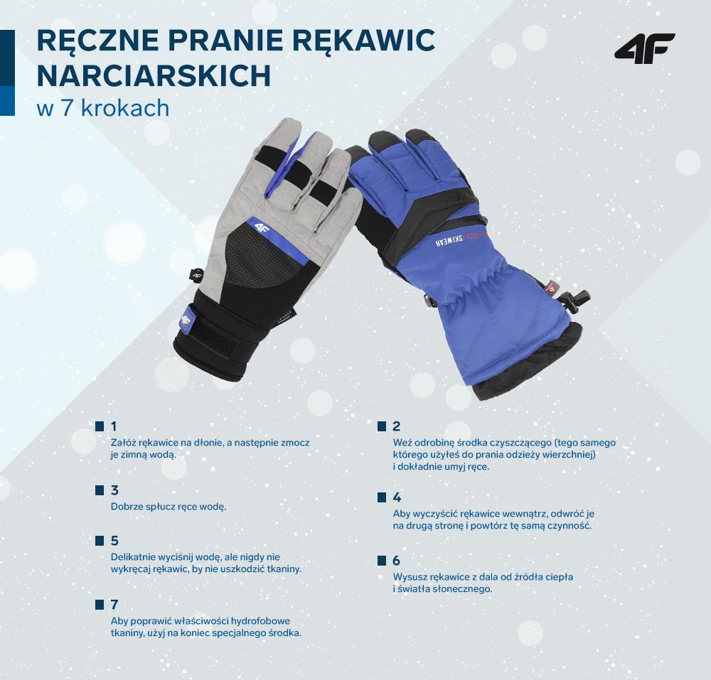 fe37e5f0ddb65a Rękawice narciarskie są niezbędne do ochrony rąk w czasie uprawiania  sportów zimowych. Brudzą się też szybciej niż inne elementy wierzchniej  odzieży.